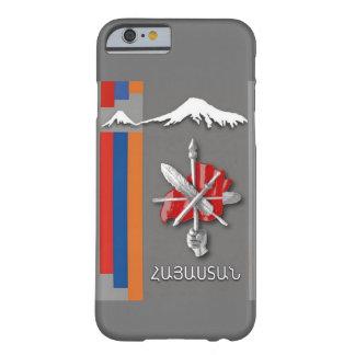 Masis armenio ararat de la bandera Zenatrosh//caso Funda De iPhone 6 Barely There