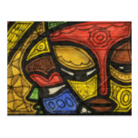 Mask 2 postcard
