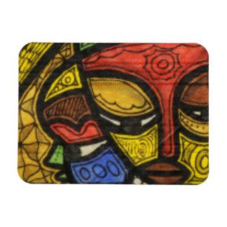 Mask 2 rectangular photo magnet