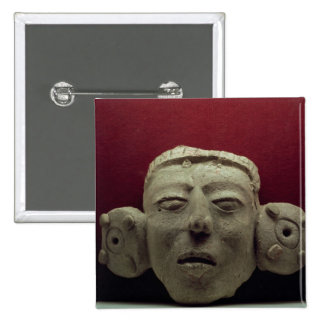 Mask, 500-900 AD Button