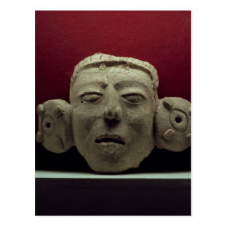 Mask, 500-900 AD Post Card