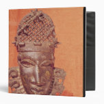 Mask, Benin 3 Ring Binder