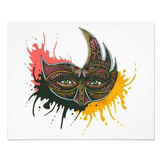 Mask - Bull Photo Print