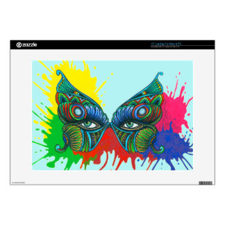 """Mask - Butterfly Skins For 15"""" Laptops"""