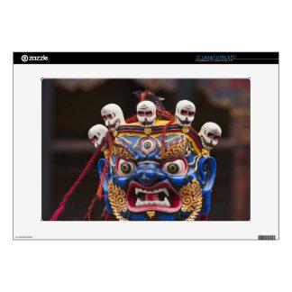 Mask dance performance at Tshechu Festival 2 Skin For Laptop