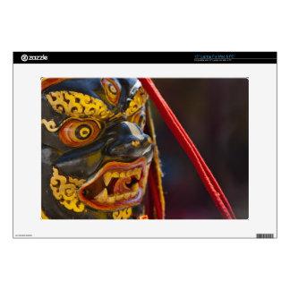 "Mask dance performance at Tshechu Festival Skin For 15"" Laptop"