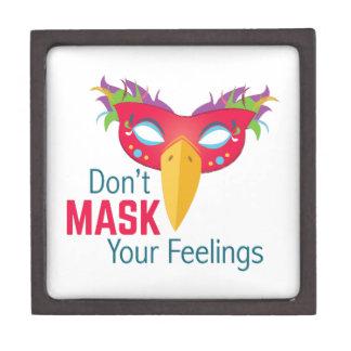 Mask Feelings Jewelry Box