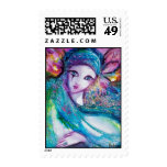 MASK IN BLUE POSTAGE STAMPS
