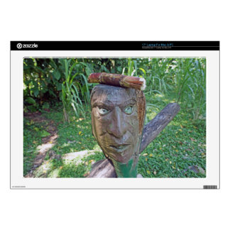 mask in the jungle laptop skins