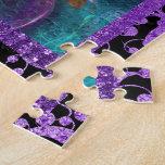 "Mask masquerade venetian ""mardi gras"" party jigsaw puzzle"