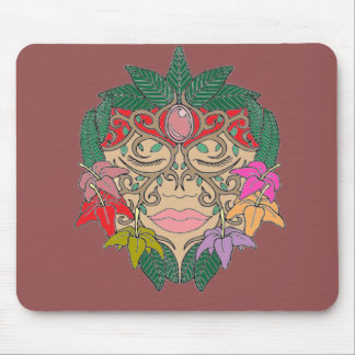 Mask Mouse Pad