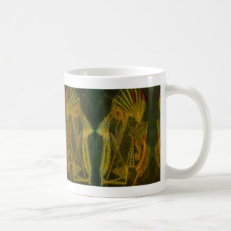 Mask Classic White Coffee Mug