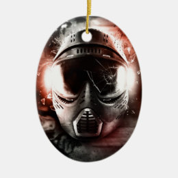 Mask of Action Paintball M-2 Ceramic Ornament