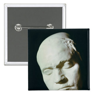 Mask of Beethoven,taken from life at the age of 2 Inch Square Button