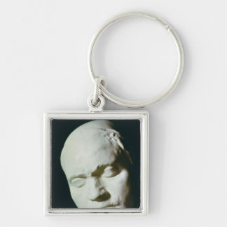 Mask of Beethoven,taken from life at the age of Key Chain