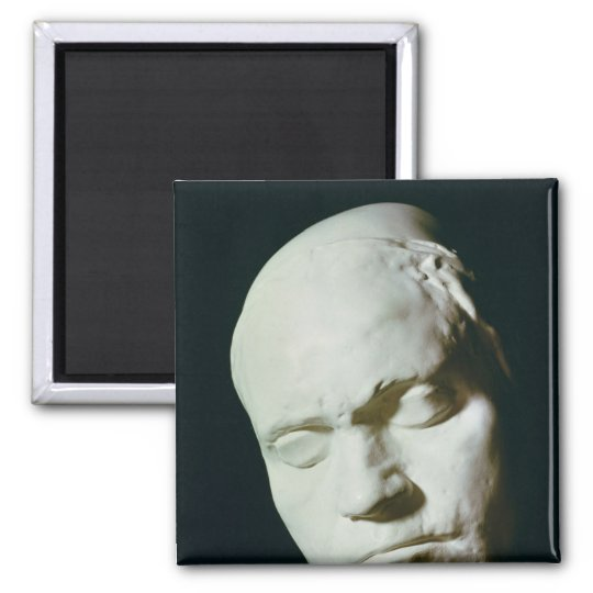 Mask of Beethoven,taken from life at the age of Magnet