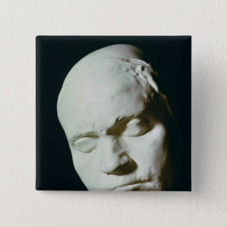 Mask of Beethoven,taken from life at the age of Pinback Button