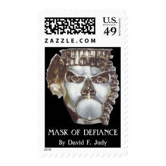 MASK OF DEFIANCE postage stamps