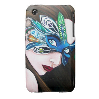 Mask of Feathers Case-Mate Case iPhone 3 Cover