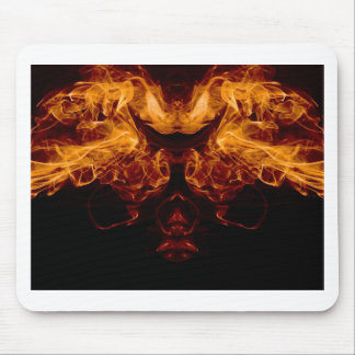 Mask of Fire Mouse Pad
