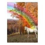 MASK OF REALITY - REVELATION RAINBOW PEGASUS POST CARD