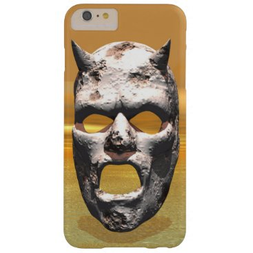 Mask of Stone Barely There iPhone 6 Plus Case