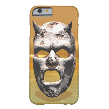 Mask of Stone Barely There iPhone 6 Case