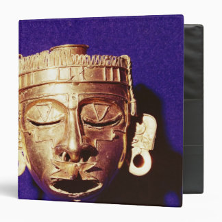 Mask of the god Xipe Totec 3 Ring Binder