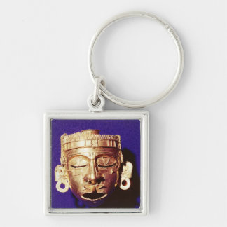 Mask of the god Xipe Totec Keychain