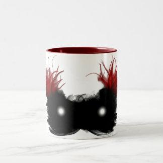 Mask of the phantom Two-Tone coffee mug