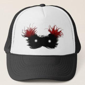 Mask of the phantom trucker hat