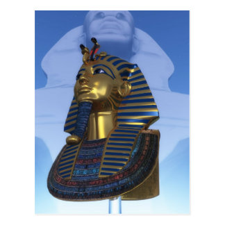 Mask of the pharaoh post cards