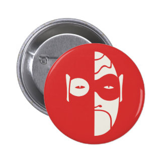 Mask on Red Button