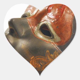 Mask Orchard Heart Sticker