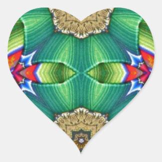 Mask Pattern Heart Sticker