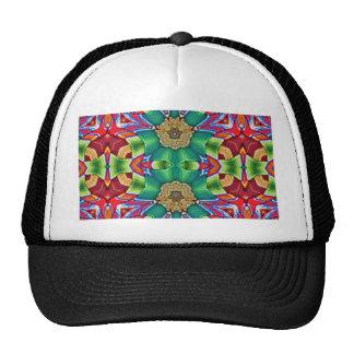 Mask Pattern Trucker Hat