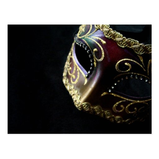 Mask Post Card