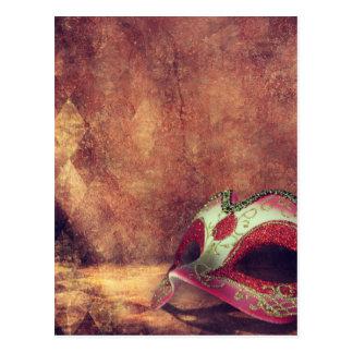 Mask Postcard