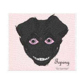 Mask Siji Gambar Canvas Print