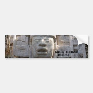 Mask Temple Bumper Stickers