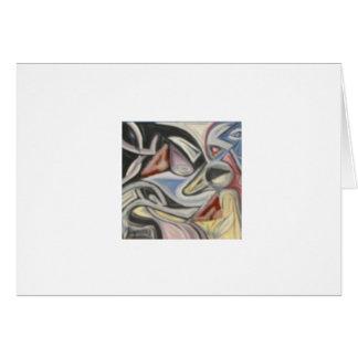 Mask Tesselation Card