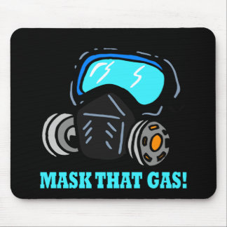 Mask That Gas Mouse Pad