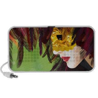 Mask Travelling Speaker
