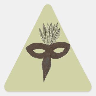Mask Triangle Sticker