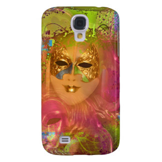 Mask venetian masquerade costume party galaxy s4 cover
