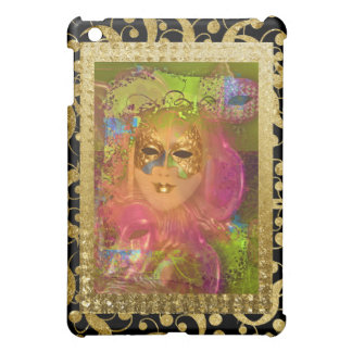 Mask venetian masquerade costume party iPad mini cover