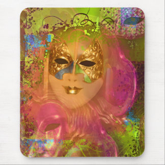 Mask venetian masquerade costume party mouse pad