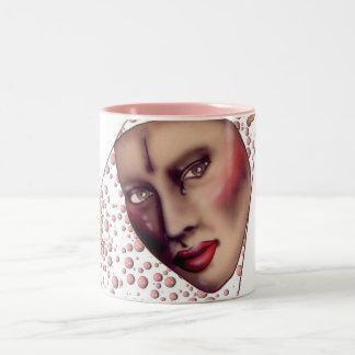 Mask with Bubbles Coffee Mug