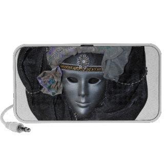 maske laptop lautsprecher
