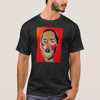 Masked. Acrylic Painting T-Shirt